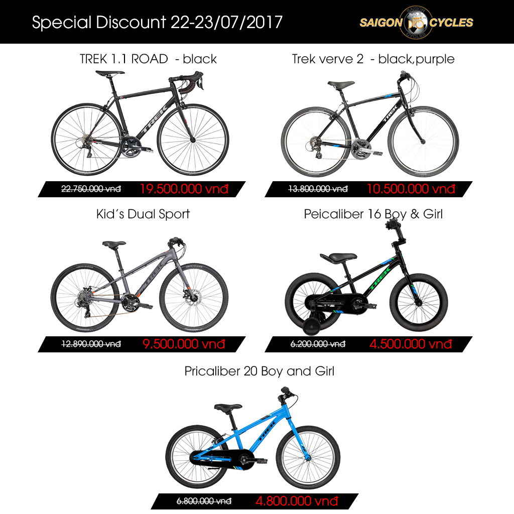 special discount 7/2017