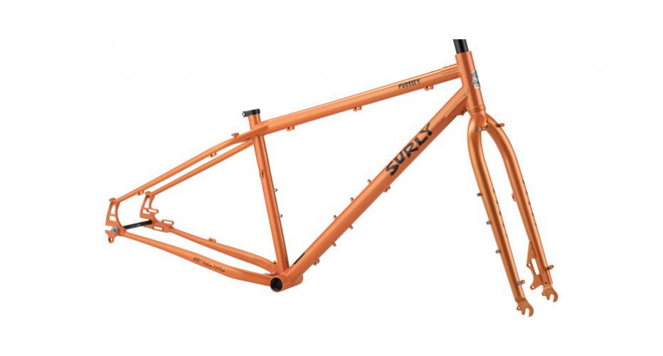Pugsley Frame Black 18″